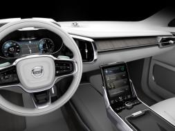 Autonomous volvo interior design concept 2015