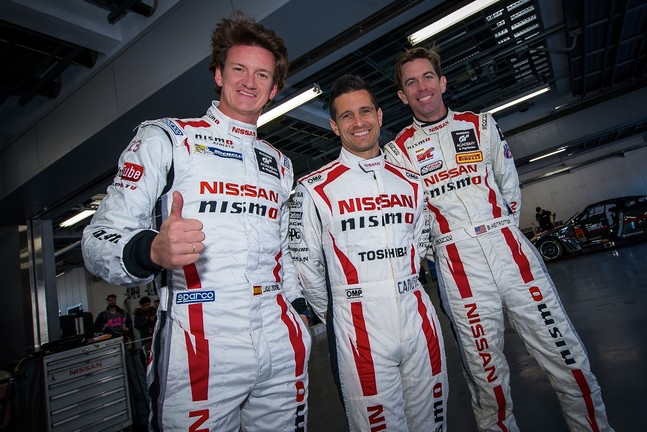 Nissan drivers at the Nismo festival 2015