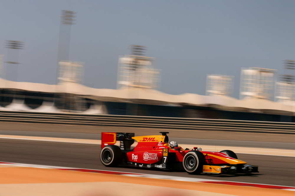 A very disappointing Feature Race for Racing Engineering today at Bahrain.