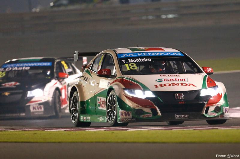 Tiago Monteiro completes his strongest FIA WTCC season with two top 10 finishes