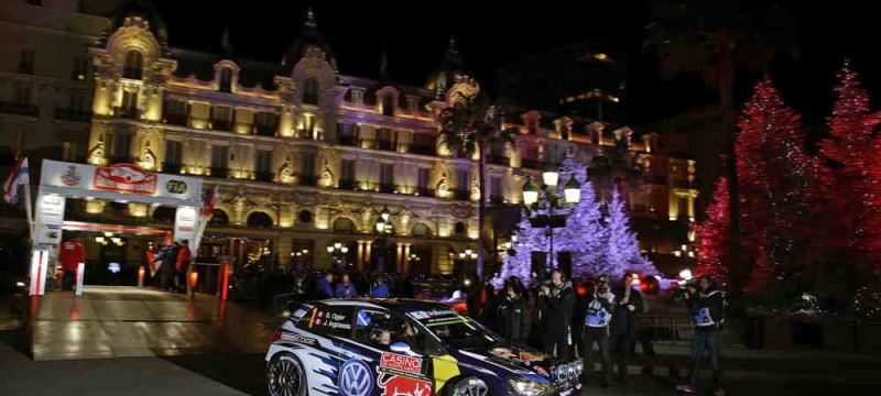 Rally Monte Carlo, Ceremonial Start
