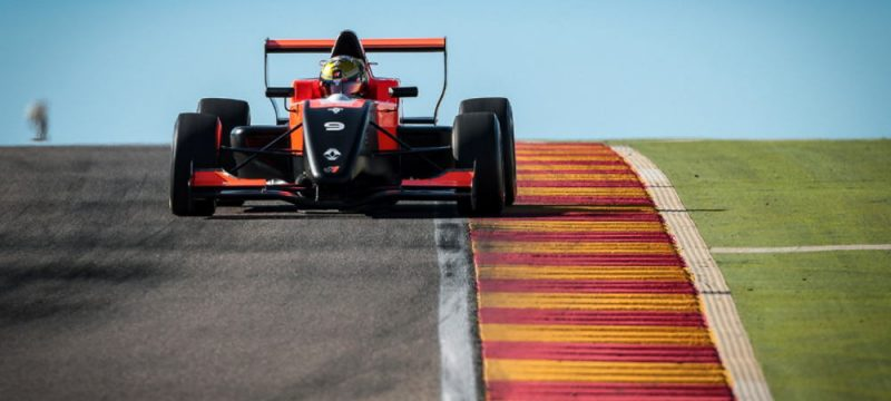 A podium and an especially good performance in curtain raiser for Dorian Boccolacci