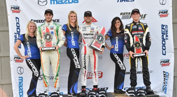 American Will Owen Earns Double Podiums at the Mid-Ohio Sports Car Course