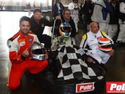 4 Heures Pole-Position winning team Photo Bruno Dorais