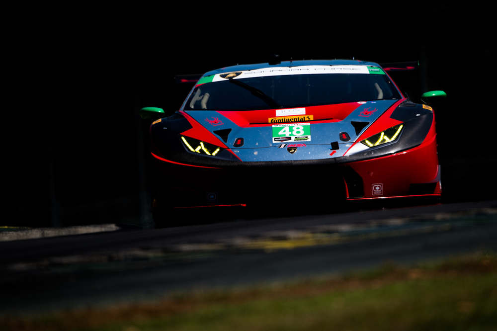 First IMSA victory for Lamborghini with the Huracán GT3