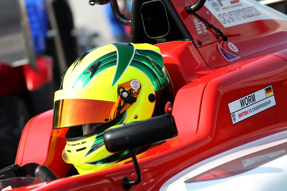 """Worm """"It feels good"""" to be in British Formula 3"""