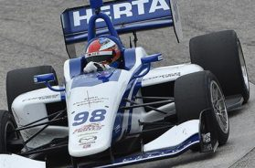 HERTA TOPS INDY LIGHTS ENTRIES AT BARBER FOR MILESTONE 400TH RACE