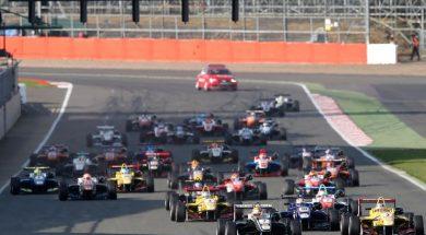 Silverstone F3 start 2015