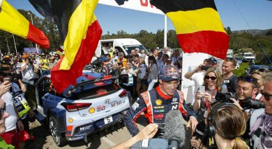Sunday in Corsica Neuville breaks victory jinx
