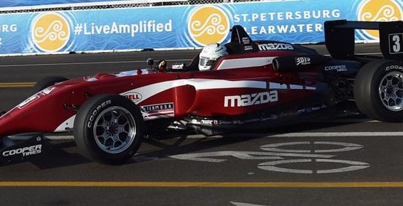 YOUNG AMERICAN ASKEW LEADS STRONG 24-CAR USF2000 FIELD AT BARBER
