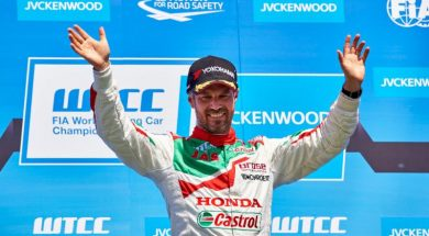 Another victory for Tiago in Hungary!
