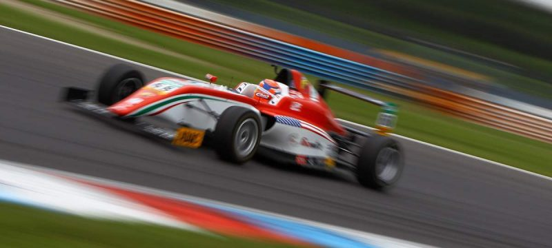 HIGHS AND LOWS AT LAUSITZRING FOR JM CORREA IN ADAC FORMULA 4 WEEKEND