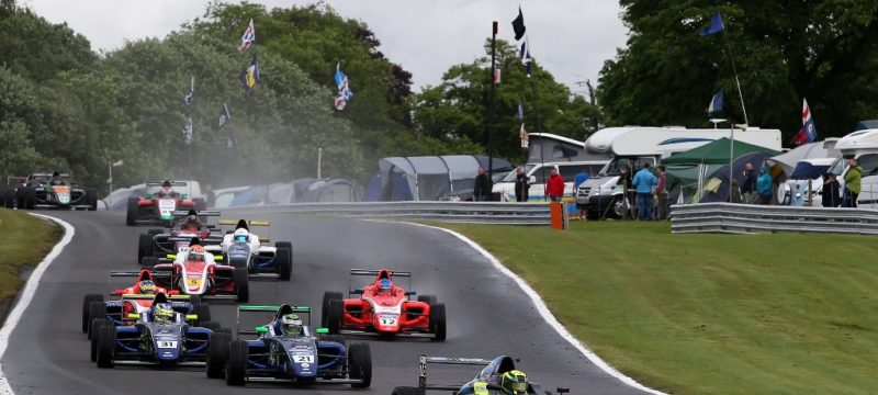Linus Lundqvist takes podium on disrupted weekend at Oulton Park
