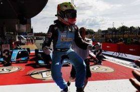 Maini win first race in GP3 in Barcelona