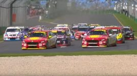 Complete V8 supercars 2017 season race 1