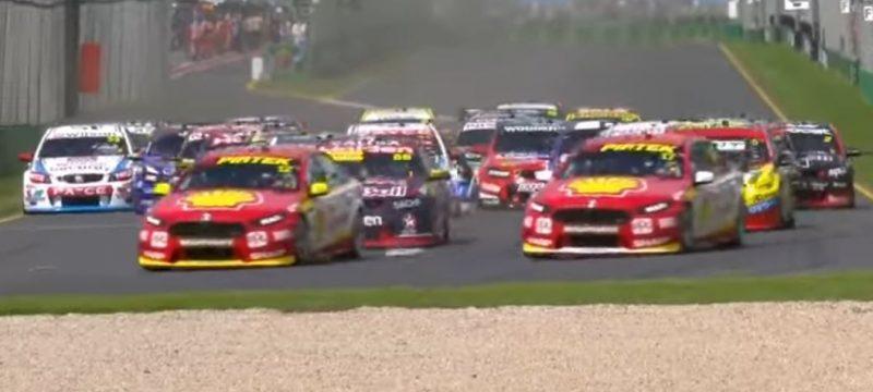 Super cars australia start