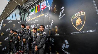 The Lamborghini Super Trofeo Europe