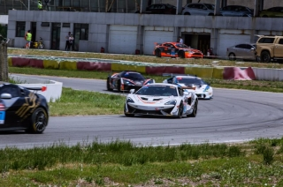 The McLaren 570S GT4 was victorious on its racing debut in Asia