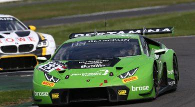Three in a row for the #63 Lamborghini Grasser Racing Team