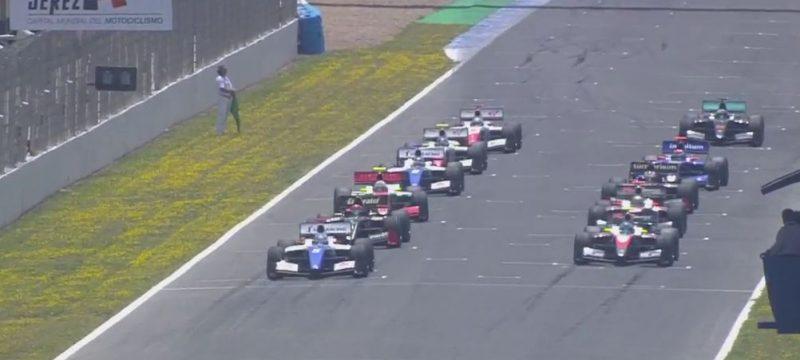 race start race 1 jerez