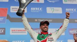 Double podium for Tiago Monteiro in Vila Real Portuguese driver takes back the lead in the FIA WTCC world championship