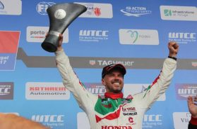 Double podium for Tiago Monteiro in Vila Real