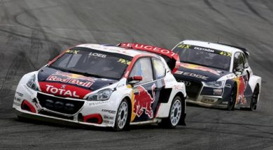Home turf for the PEUGEOT 208 WRXs in Sweden