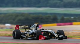 Pietro Fittipaldi (Lotus) wins and comes back to championship leader