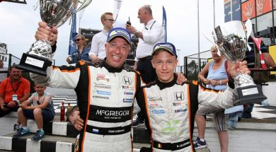 TCR BENELUX CLEAN SWEEP FOR CORONEL-LESSENNES