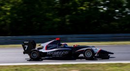 GP3 Drivers in Budapest for Final Test