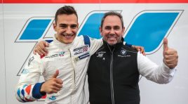 First rookie maiden win in 2017 for Alex Palou (Teo Martin Motorsport) in Nürburgring