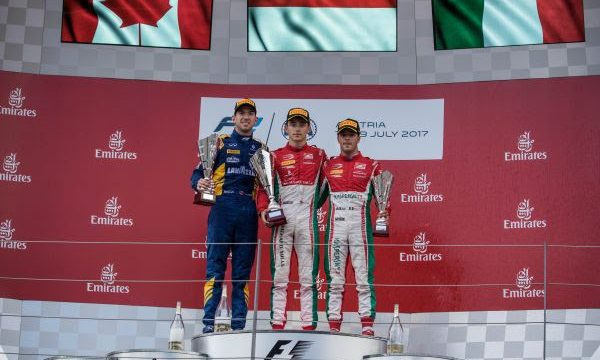 DAMS TIED FOR CHAMPIONSHIP LEAD AFTER DOUBLE PODIUM AT RED BULL RING