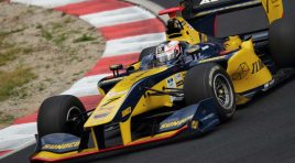 Felix Rosenqvist seals maiden Super Formula podium