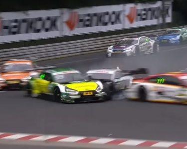 Gary PAffet crash Norisring