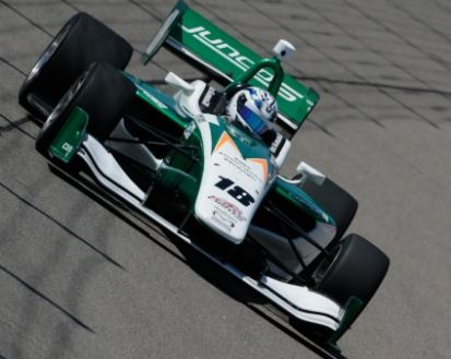 Juncos Racing Earns Top-5 Finish at Iowa Speedway