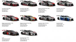 AUDI AIMS HIGH FOR THE SPA 24 HOURS