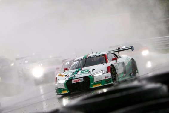 AUDI TAKES ADAC GT MASTERS ONE-TWO IN THE RAIN AT ZANDVOORT