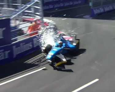 buemi massive crash