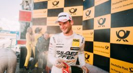 Maro Engel takes his maiden win in the DTM in the second race at the Moscow Raceway