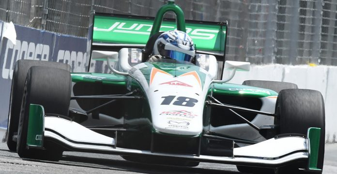 Kaiser Cruises To Toronto Indy Lights Score