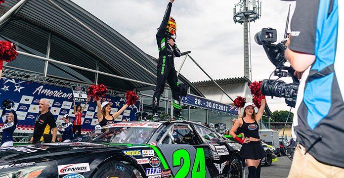 Kumpen Wraps Up NASCAR's German Stop