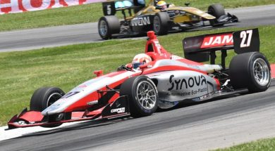 Nico Jamin Controls Mid-Ohio Indy Lights Go