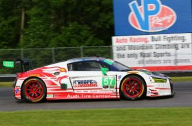 STEVENSON MOTORSPORTS EARNS HARD FOUGHT FOURTH PLACE FINISH AT LIME ROCK PARK