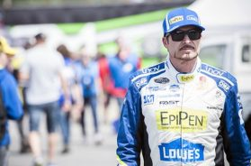 Alex Tagliani was fastest during the NASCAR Pinty's series' sole practice session at Circuit Trois-Rivières. Matt Manor NASCAR
