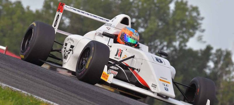 CAPE MOTORSPORTS' KIRKWOOD WINS IN MID-OHIO TO STRETCH F4 POINT LEAD