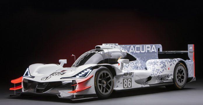 Acura Debuts ARX-05 Prototype Racer