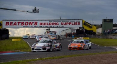 PORSCHE CARRERA CUP GB: KNOCKHILL – ROUNDS TEN AND ELEVEN REPORTS
