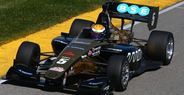 Santi Urrutia Fighting Hard For IndyCar Bid