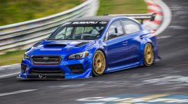 WATCH THE SUBARU WRX STI TYPE RA NBR SPECIAL SET A SUB-SEVEN MINUTE LAP OF THE NÜRBURGRING NORDSCHLEIFE TRACK