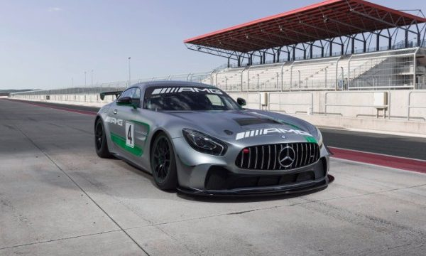 THE MERCEDES-AMG GT4 TO RACE AT THE NURBURGRING FOR THE FIRST TIME